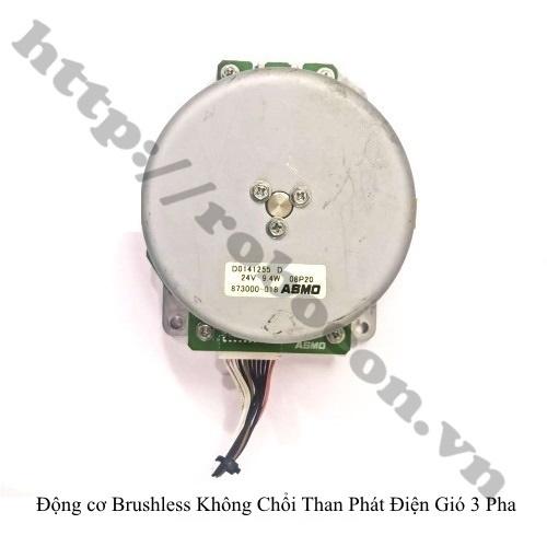 PKK858 Động Cơ Brushless Không Chổi Than Phát Điện Gió 3 Pha ASMO 9.4W 24VDC