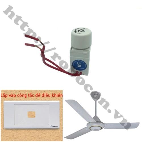 MDL335 Dimmer Điều Khiển Quạt Trần 220V 1000W