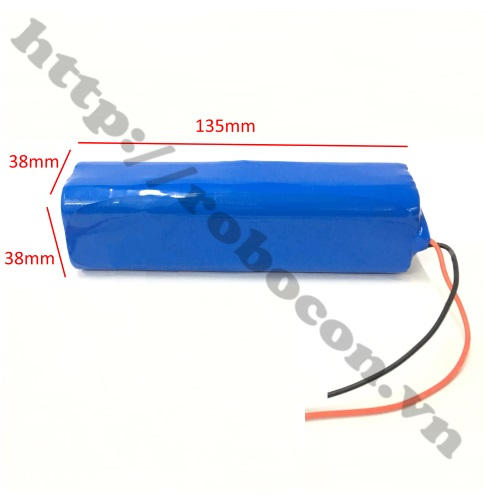CBM118 Pin Robocon - Pin Sạc Lithium 4S 2P 18650 14.8V-16.8V 4800mah