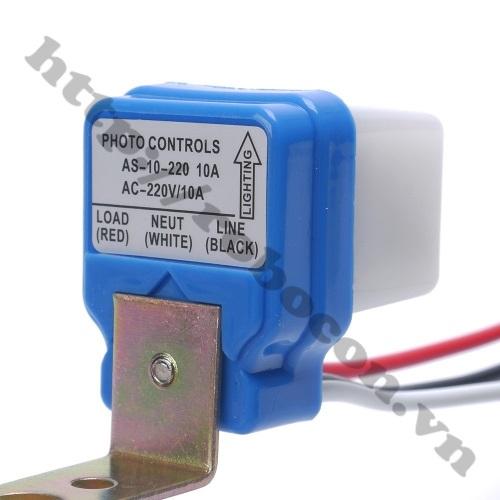 MDL320 Công Tắc Điều Khiển Cảm Biến Ánh Sáng Thông Minh AS10 AC220V 10A