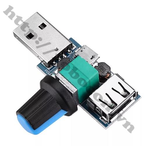 Module điều tốc điều chỉnh điện áp USB 5v