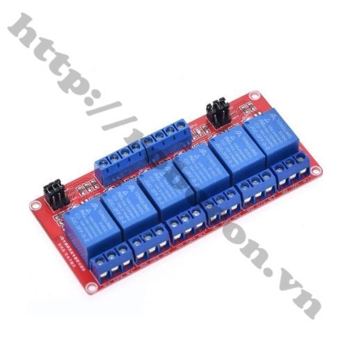 Module Relay 6 Kênh 5VDC