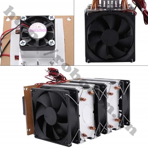 Bộ Combo Tản Nhiệt Kép Cho Sò Nóng Lạnh TEC-12706 - 12V 120W