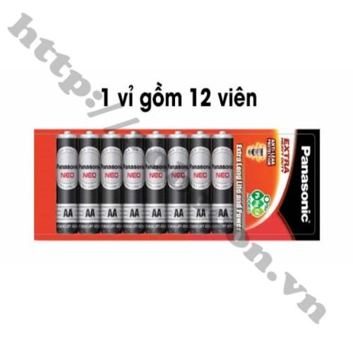 PPKP173 Pin AA Panasonic 1,5V Vỉ 12 Viên