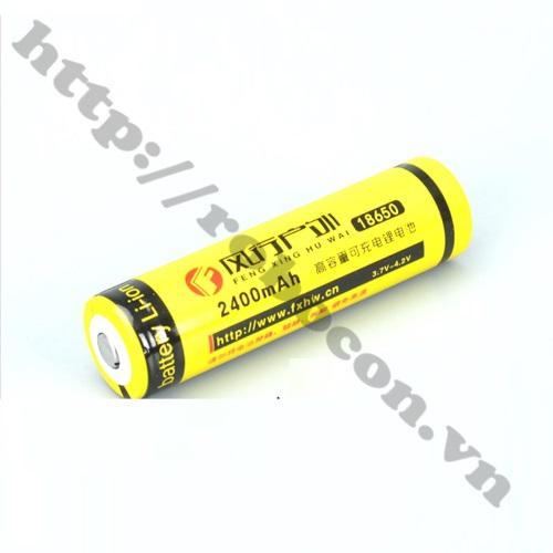 PPKP211 Pin Sạc Li-Ion 18650 3.7V 2400Mah Đầu Lồi