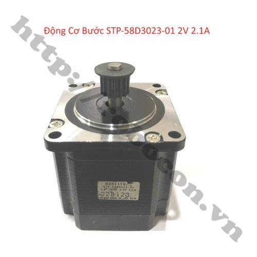 Động Cơ Bước STP-58D3023-01 2V 2.1A