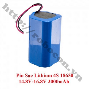CBM131 Pin Robocon – Pin Sạc Lithium 4S 18650 14.8V-16.8V ...
