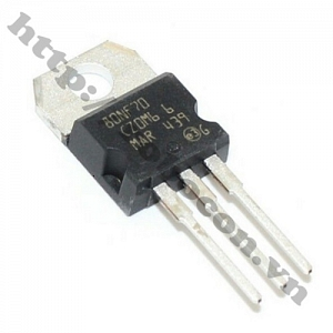 MO22 Mosfet 80NF70 To220 N-CH 70V 80A