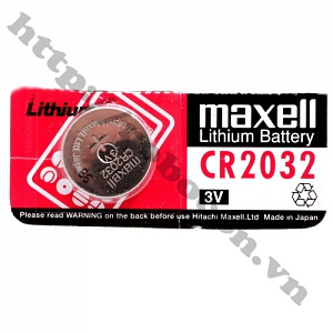 PPKP253 Pin CR2032 Maxell Lithium, Pin Cmos ...